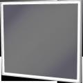 Zrkadlo v rámeVillago800x700x43LED