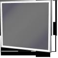 Zrkadlo v rámeVillagoATYPxATYPx43LED
