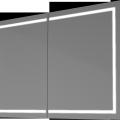 ZrkadloPRO1050LEDdvoj-dverové
