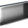 Nerezový kontajner 600/15, do steny