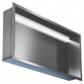 Nerezový kontajner 600/15 s Led osvetlením, do steny
